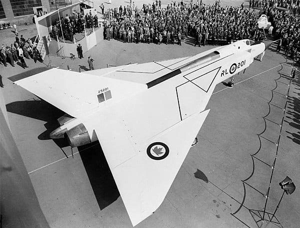 Avro Arrow aircraft