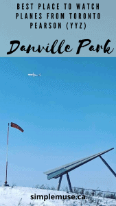 Best place to watch planes in Toronto YYZ