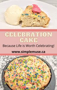 sprinkle celebration cake board