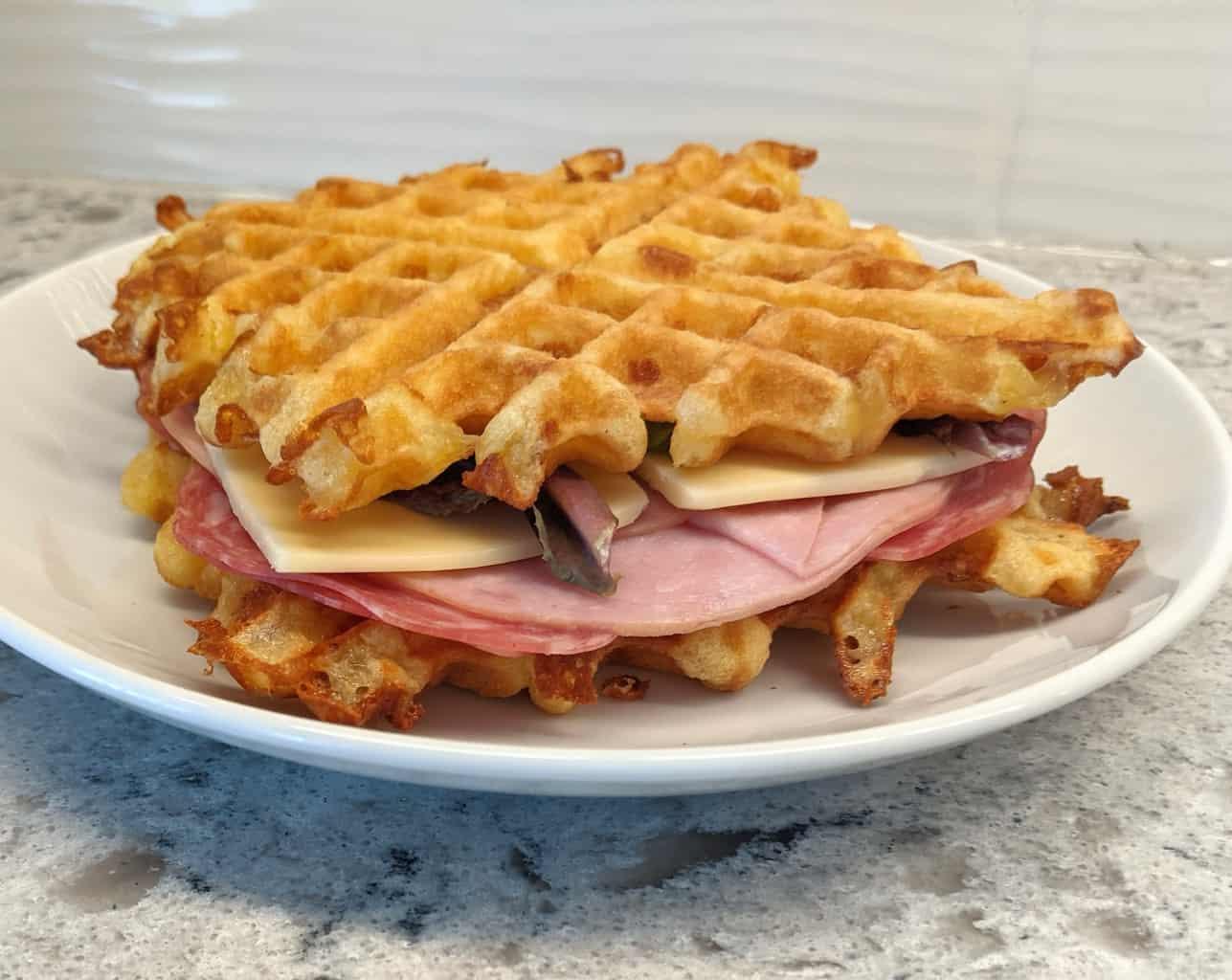 waffle sandwich
