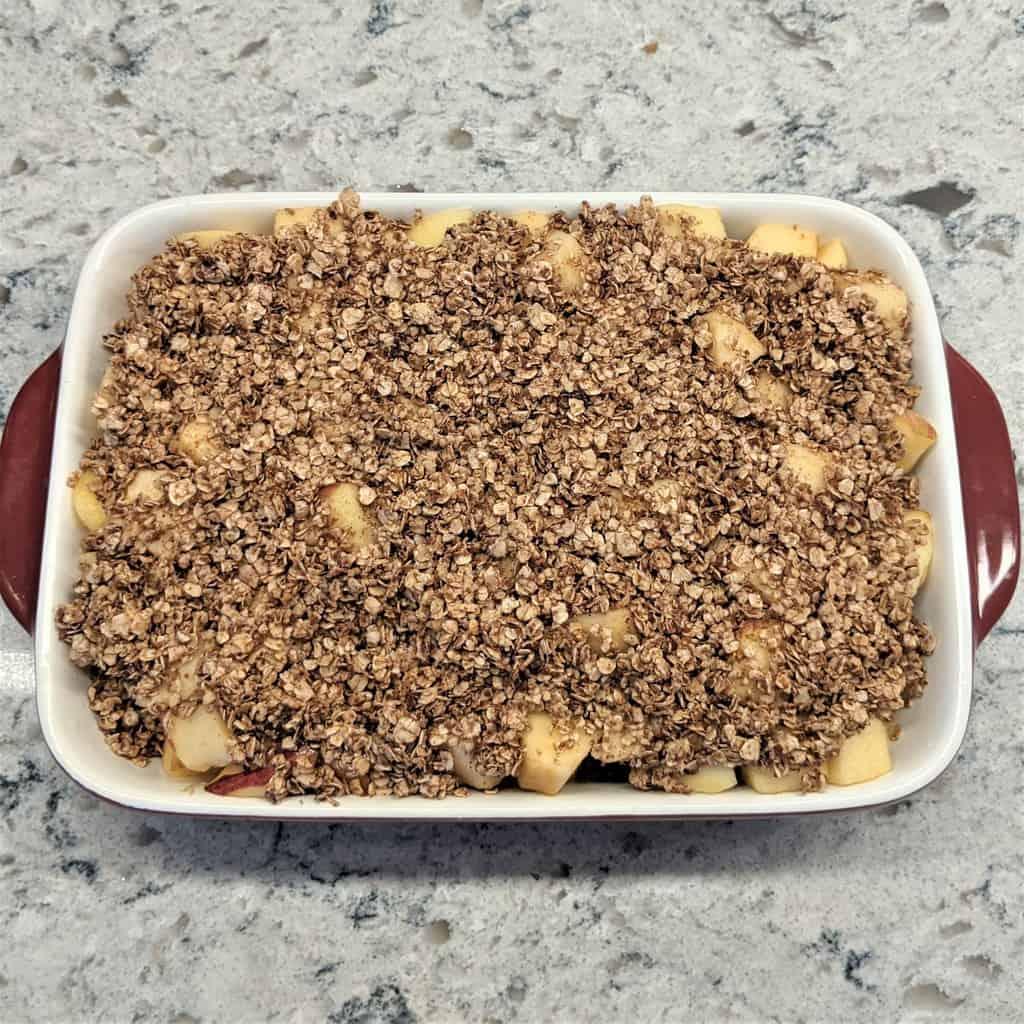 apple oatmeal bake